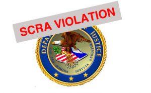 SCRA violation