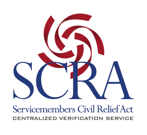 Servicemembers Civil Relief Act Centralized Verification Service