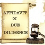affidavit-of-due-diligence